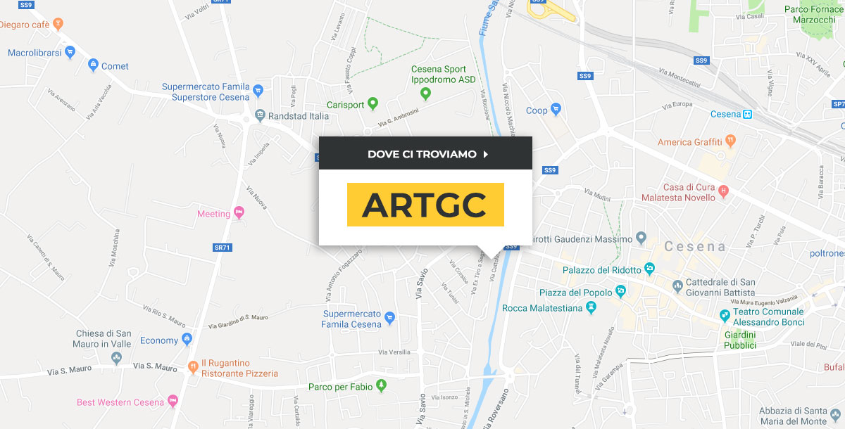 mappa artgc