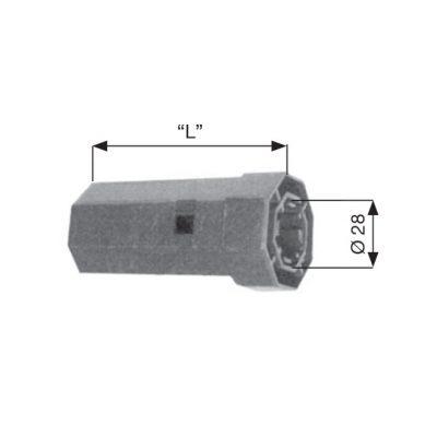 CALOTTA PLASTICA per cuscinetto Ø 28 mm