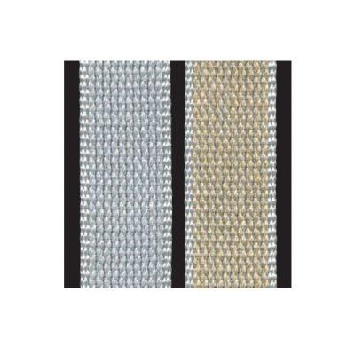 Cintino misto-cotone bicolore: grigio/avana
