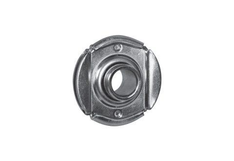 TESTINA A SFERE zincata estraibile innesto 30mm